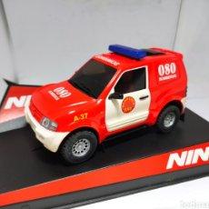 Slot Cars: NINCO MITSUBISHI PAJERO BOMBEROS REF. 50507. Lote 223729435