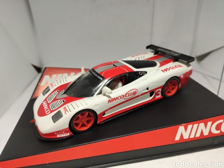 NINCO MOSLER MT900R CLUB NINCO N°3 REF. 50411 (Juguetes - Slot Cars - Ninco)