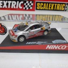 "Slot Cars: PEUGEOT 307 "" COSTA DAURADA 06 "" #O6 NINCO 14 RALLY SLOT EDICION LIMITADA SCALEXTRIC. Lote 224251317"