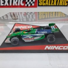 "Slot Cars: LOLA FORD "" HERDEZ COMPETITION "" NINCO #4 MC CORMICK SCALEXTRIC FORMULA. Lote 224265712"