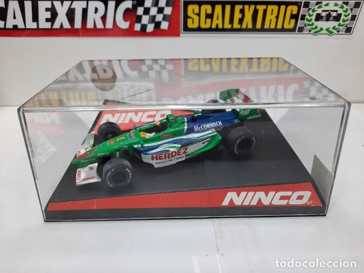 "Slot Cars: LOLA FORD "" Herdez Competition "" NINCO #4 Mc CORMICK SCALEXTRIC FORMULA - Foto 9 - 224265712"