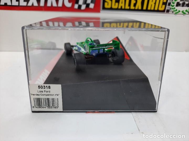 "Slot Cars: LOLA FORD "" Herdez Competition "" NINCO #4 Mc CORMICK SCALEXTRIC FORMULA - Foto 13 - 224265712"
