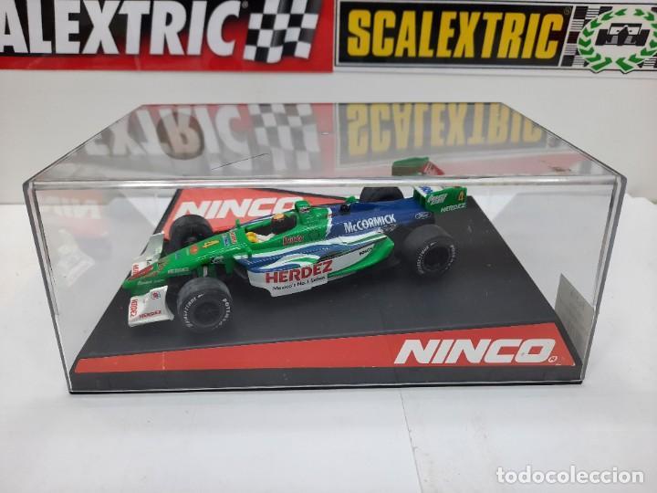 "Slot Cars: LOLA FORD "" Herdez Competition "" NINCO #4 Mc CORMICK SCALEXTRIC FORMULA - Foto 14 - 224265712"