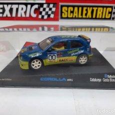 "Slot Cars: TOYOTA COROLLA WRC 8 RALLYSLOT "" COSTA BRAVA 2000 "" EDICION LIMITADA NINCO #00 SCALEXTRIC. Lote 224266758"