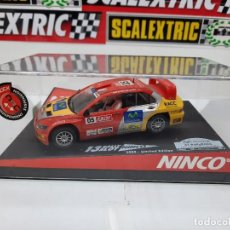 "Slot Cars: MITSUBISHI LANCER ""CATALUNYA- COSTA DAURADA""EDICION LIMITADA 13 RALLY SLOT NINCO #05 SCALEXTRIC. Lote 224267052"