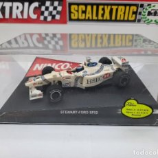 "Slot Cars: STEWART - FORD SF02 "" HSBC "" #18 SCALEXTRIC FORMULA. Lote 224388621"