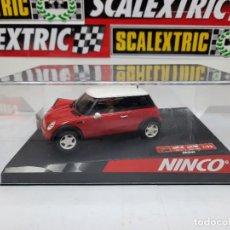 "Slot Cars: MINI COOPER "" RED "" # NINCO 50275 SCALEXTRIC. Lote 224589128"