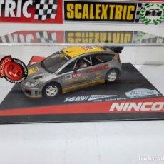 "Slot Cars: SEAT C4 WRC ""RACC CATALUNYA-COSTA BRAVA 2008 "" # 16 RALLY SLOT EDICION LIMITADA NINCO SCALEXTRIC. Lote 224602973"