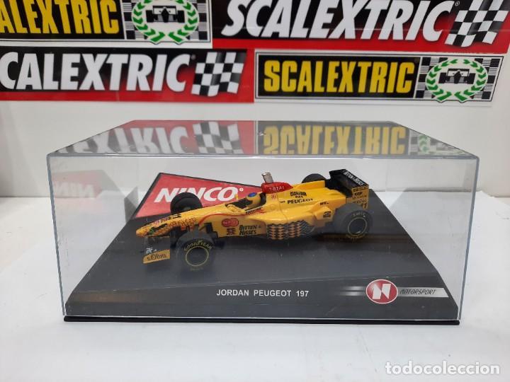 "JORDAN PEUGEOT 197 F1 FORMULA "" GERMAN DRIVER"" # 11 NINCO SCALEXTRIC (Juguetes - Slot Cars - Ninco)"