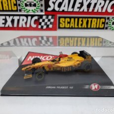 """Slot Cars: JORDAN PEUGEOT 197 F1 """" GERMAN DRIVER"""" # 11 NINCO SCALEXTRIC. Lote 224606838"""