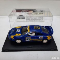 "Slot Cars: TOYOTA CELICA GT-FOUR RACC "" CATALUNYA- COSTA BRAVA 1995 "" #95 NINCO SERIE LIMITADA SCALEXTRIC. Lote 224626581"