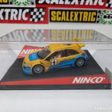"Slot Cars: RENAULT MEGANE (WORLD CHAMPION ) "" TROPHY "" # 1 NINCO SCALEXTRIC. Lote 225892475"