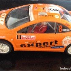 Slot Cars: PEUGEOT MONTECARLO 2006. Lote 226082975