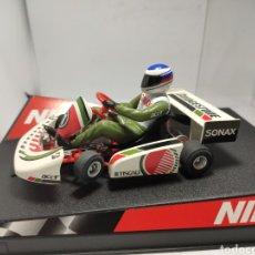 Slot Cars: NINCO SUPER KART F1 BRIDGESTONE REF. 50286. Lote 277841948