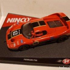 Slot Cars: FERRARI F50 SPONSORS DE NINCO REF.-50217. Lote 228924910