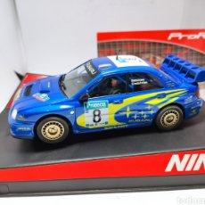 Slot Cars: NINCO SUBARU WRC NEW ZEALAND 03 PRORACE REF. 50328. Lote 229103550