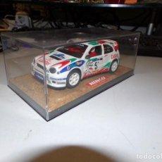 Slot Cars: NINCO COCHE TIPO SCALEXTRIC 50165 TOYOTA COROLLA CASTROL Nº 5 CARLOS SAINZ NUEVO. Lote 229223145