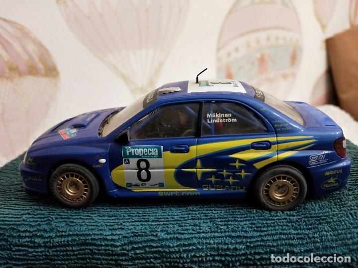 NINCO SUBARU WRC NEW ZEALAND 03 PRORACE REF. 50328 MAKINEN-LINDSTRÓM (Juguetes - Slot Cars - Ninco)