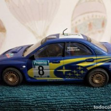 Slot Cars: NINCO SUBARU WRC NEW ZEALAND 03 PRORACE REF. 50328 MAKINEN-LINDSTRÓM. Lote 230202950