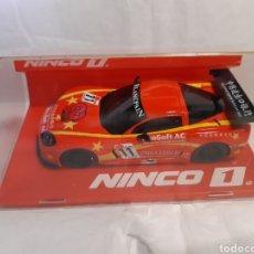 Slot Cars: NINCO (SCALEXTRIC) CHEVROLET CORVETTE GT3 Z06 CHINA. Lote 232973650