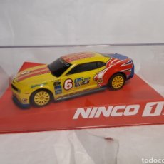 Slot Cars: NINCO (SCALEXTRIC) CHEVROLET CAMARO EAGLE ONE. Lote 232980610