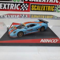 "Slot Cars: MOSLER MT 900R NINCO ""GULF "" #9 SCALEXTRIC. Lote 233134555"