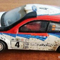"Slot Cars: NINCO FORD FOCUS WRC #4 ""EFECTO BARRO"" CARLOS SAINZ-LUIS MOYA. Lote 233271605"