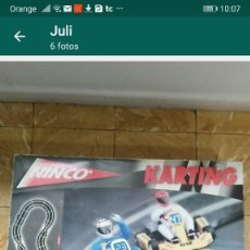 Slot Cars: PISTA COCHES NINCO KARTING COMPLETA. Lote 234719920