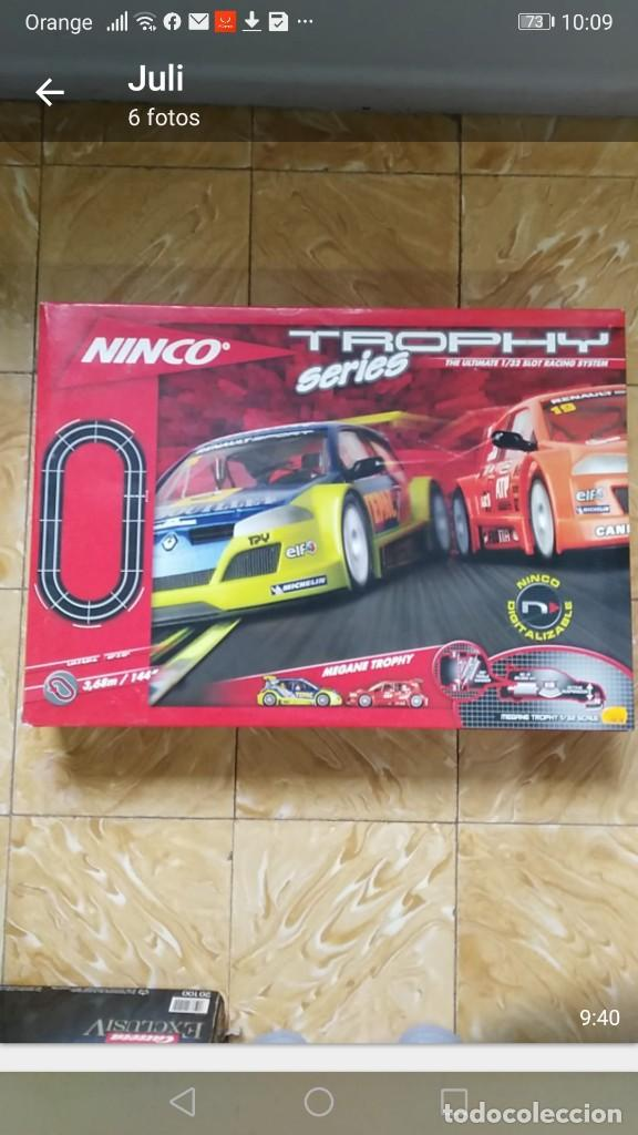 NINCO PISTA TROPHY SERIES REF: 201312 THE ULTIMATE 1/32 RACING SYSTEM (Juguetes - Slot Cars - Ninco)