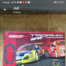 Slot Cars: NINCO PISTA TROPHY SERIES REF: 201312 THE ULTIMATE 1/32 RACING SYSTEM. Lote 234720485
