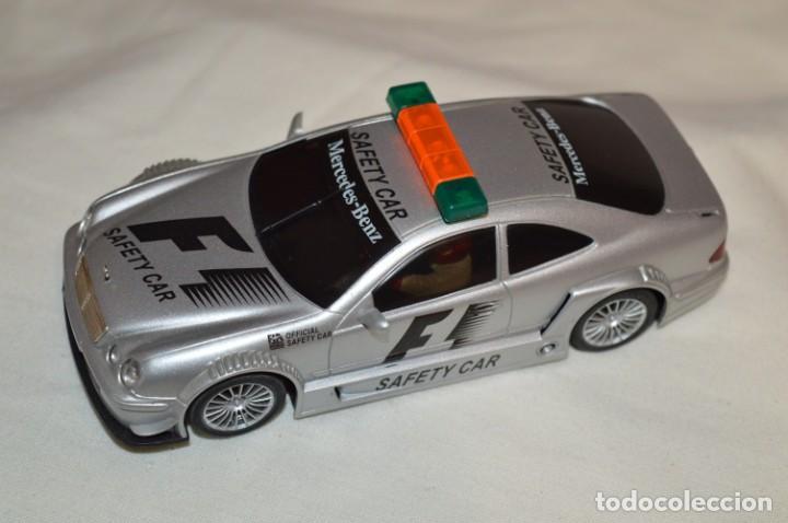NINCO / MERCEDES CLK F1 -- SAFETY CAR / REF 50282 - FUNCIONA CORRECTAMENTE ¡MIRA FOTOS/DETALLES! (Juguetes - Slot Cars - Ninco)