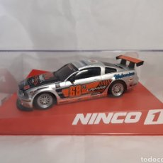 Slot Cars: COCHE SCALEXTRIC NINCO FORD MUSTANG CAPALDI. Lote 236632910