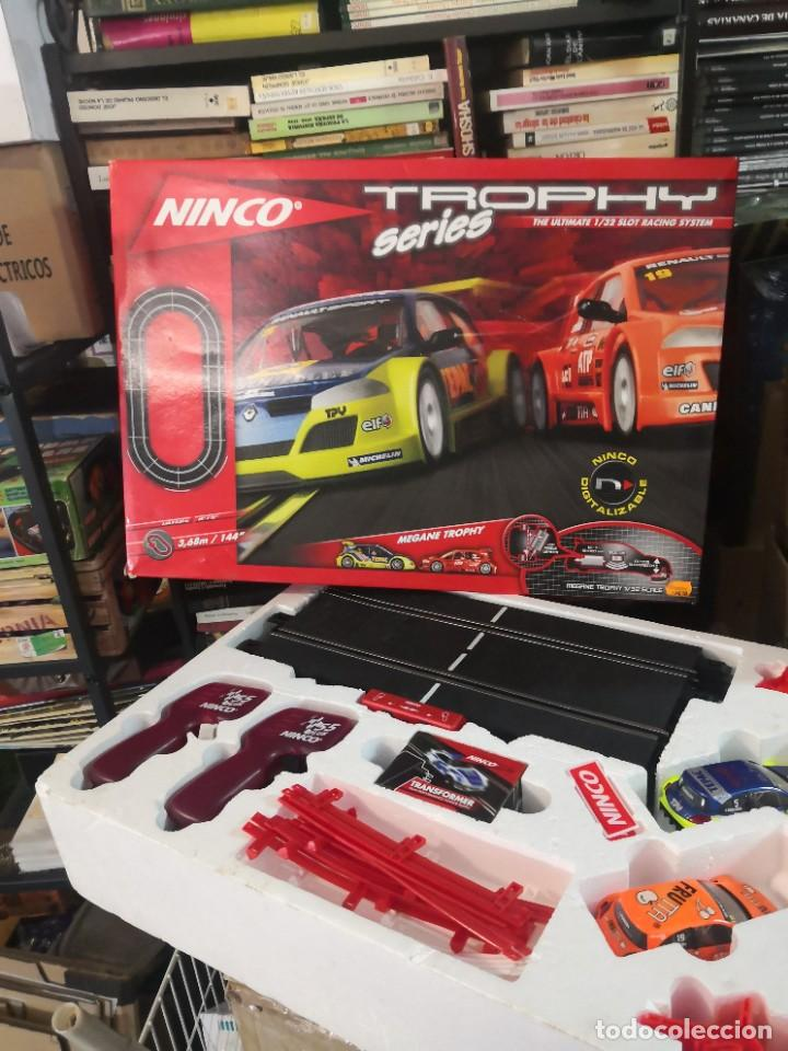 Slot Cars: NINCO PISTA TROPHY SERIES REF: 201312 THE ULTIMATE 1/32 RACING SYSTEM - Foto 6 - 234720485