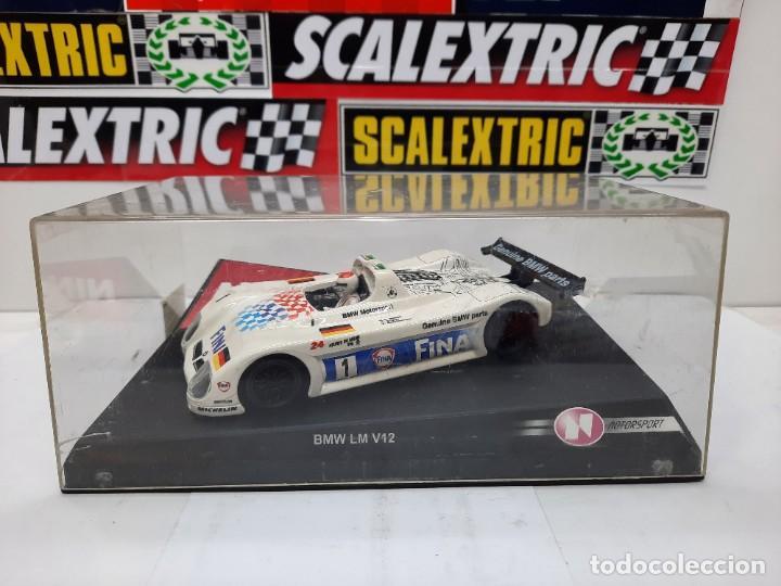 "BMW LM V12 "" FINA "" #1 NINCO SCALEXTRIC !! (Juguetes - Slot Cars - Ninco)"