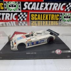 "Slot Cars: BMW LM V12 "" FINA "" #1 NINCO SCALEXTRIC !!. Lote 237349705"