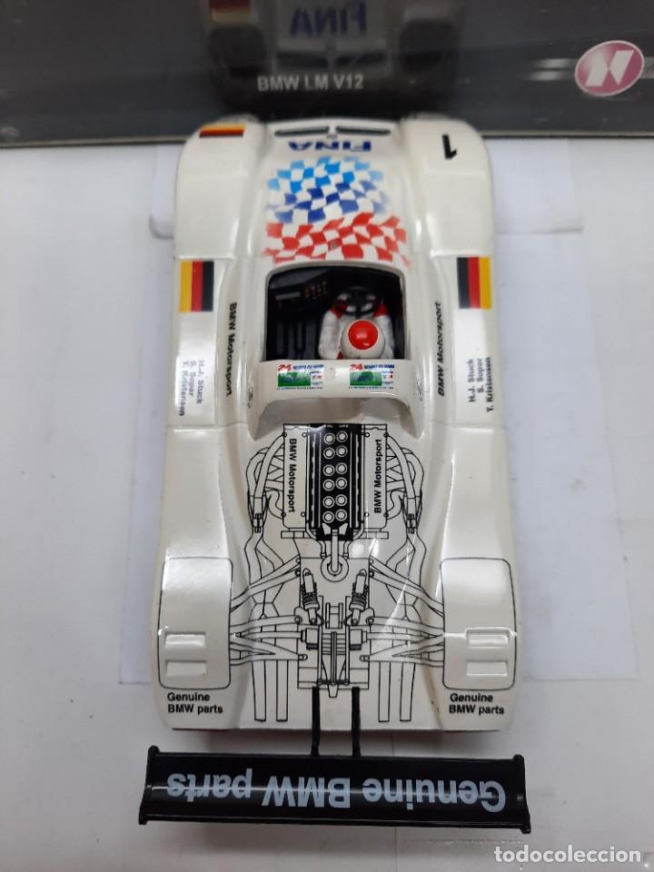 "Slot Cars: BMW LM V12 "" FINA "" #1 NINCO SCALEXTRIC !! - Foto 5 - 237349705"