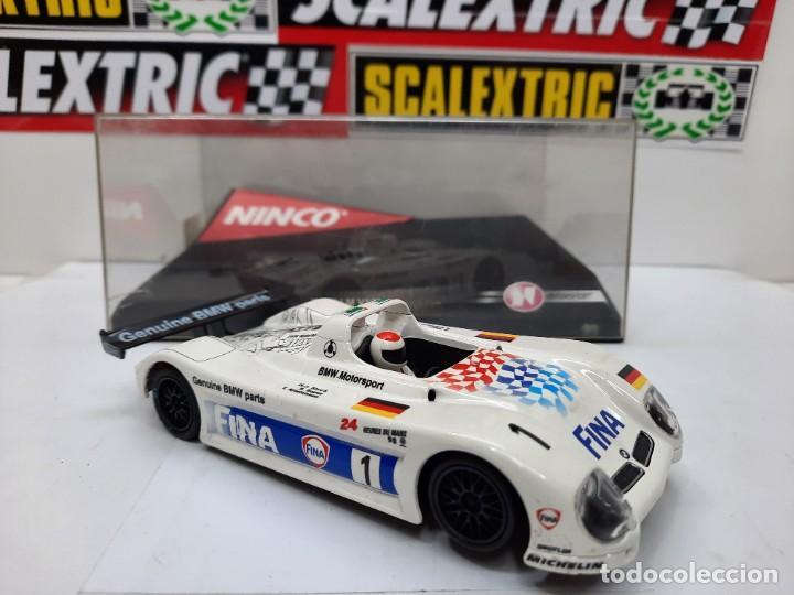 "Slot Cars: BMW LM V12 "" FINA "" #1 NINCO SCALEXTRIC !! - Foto 8 - 237349705"