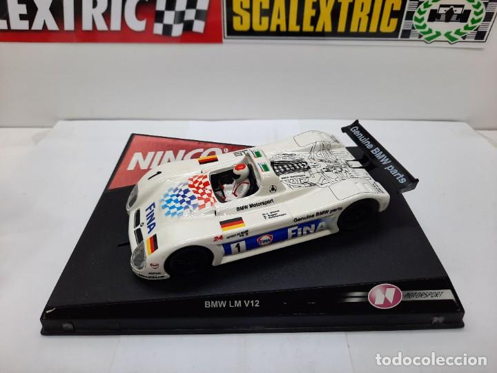 "Slot Cars: BMW LM V12 "" FINA "" #1 NINCO SCALEXTRIC !! - Foto 11 - 237349705"