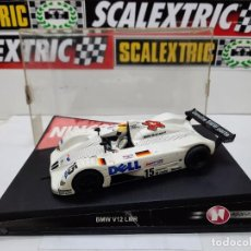 "Slot Cars: BMW LM V12 "" DELL "" #15 NINCO SCALEXTRIC !!. Lote 237352235"