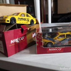 Slot Cars: 2 COCHES NINCO ( AMG MERCEDES 50107 Y AUDI A4 50138). Lote 237404730