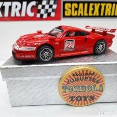 """Slot Cars: PORSCHE 911 GT1 LUCCHINI """" WARSTEINER """" #22 NINCO SCALEXTRIC. Lote 238503255"""