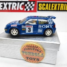 "Slot Cars: VW GOLF 4X4 "" SONY "" #3 NINCO SCALEXTRIC. Lote 238673835"
