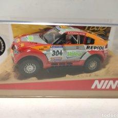 Slot Cars: NINCO MITSUBISHI PAJERO EVO DAKAR 06 REF. 50390. Lote 241425865