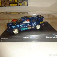 Slot Cars: NINCO. SEAT CORDOBA WRC. CATALUNYA COSTA BRAVA 1999. RACC. REF. 50182. Lote 241521255