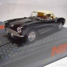 Slot Cars: CHEVROLET CORVETTE SOFT TOP 1956 NINCO NUEVO. Lote 241597670