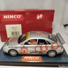 Slot Cars: NINCO AUDI A4 REPSOL REF. 50137. Lote 243223395