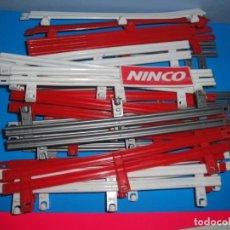 Slot Cars: LOTE DE 20 GUARDARAÍLES NINCO. Lote 244419690