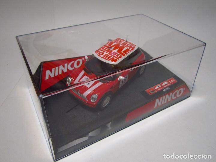 MINI COOPER BIMBO NINCO NUEVO (Juguetes - Slot Cars - Ninco)