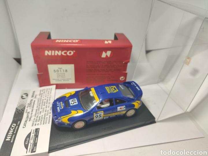 Slot Cars: NINCO TOYOTA CELICA GT FOUR RALLYE CATALUNYA COSTA BRAVA REF. 50118 - Foto 2 - 253160065
