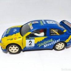 Slot Cars: NINCO SEAT CÓRDOBA WRC TELEFÓNICA. Lote 253890665